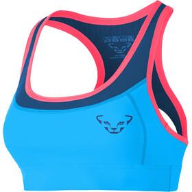 Dynafit React Biustonosz sportowy Kobiety różowy/niebieski